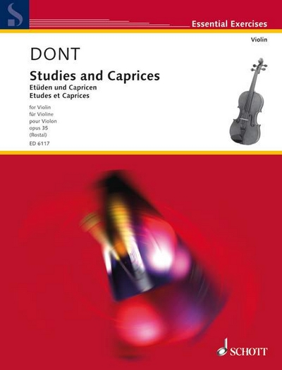 Studies And Caprices Op. 35