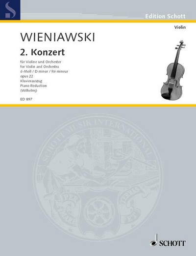 Violin Concerto #2 In D Minor Op. 22