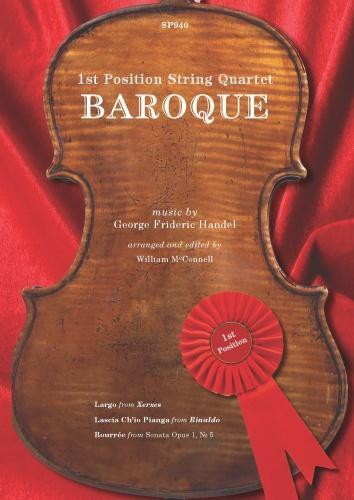1St Position String Quartet: Baroque