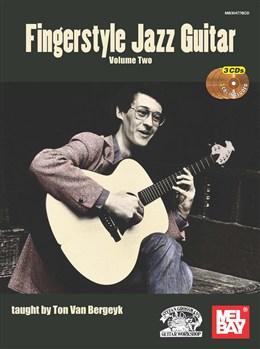 Fingerstyle Jazz - Vol.2 - Book - 3Cd's