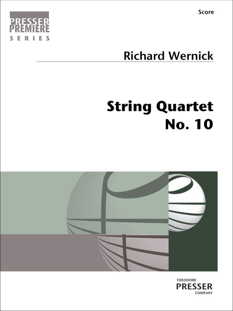 String Quartet No. 10 - Score