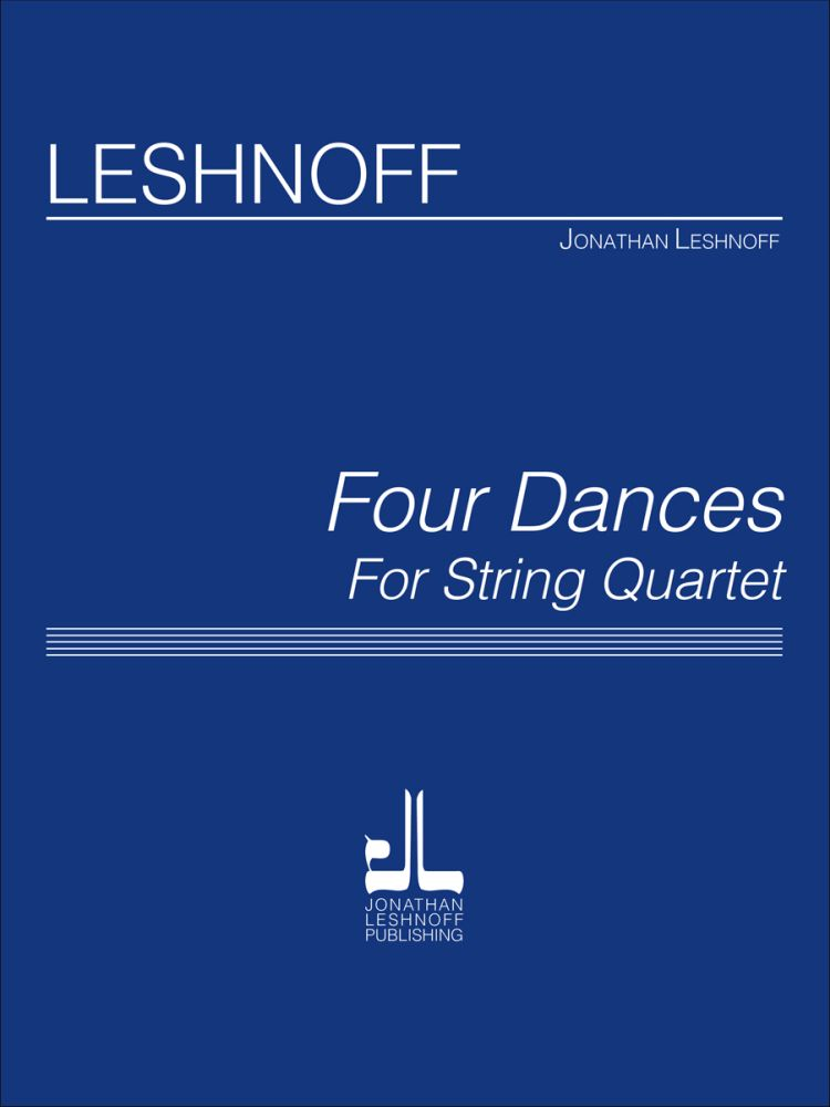 4 Dances For String Quartet