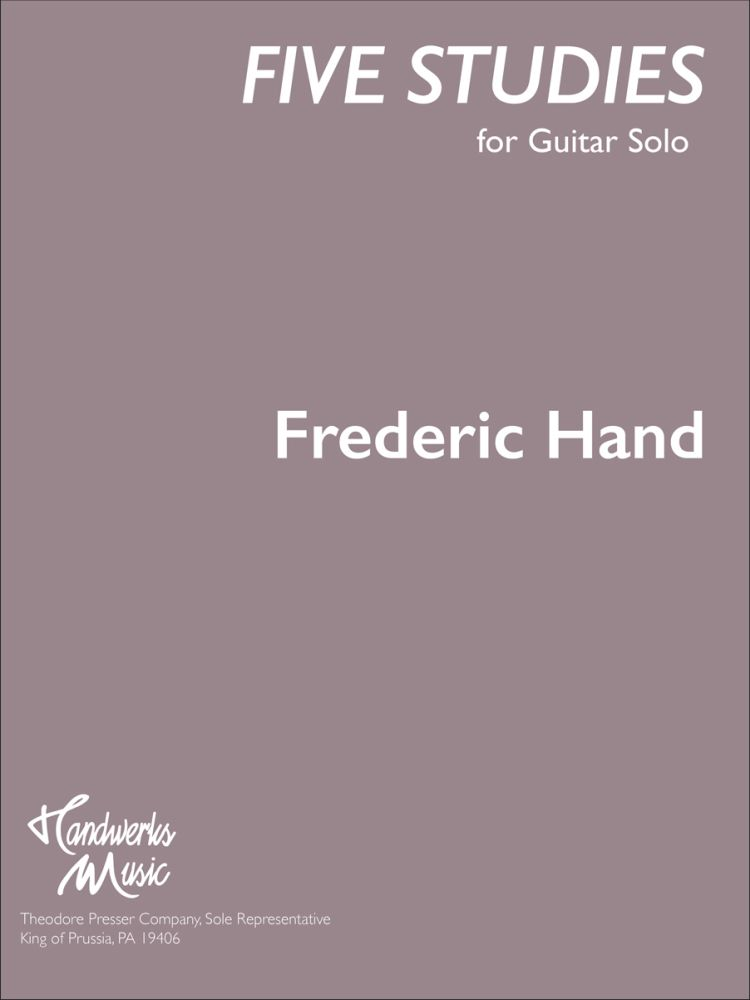 5 Studies For Guitar Solo