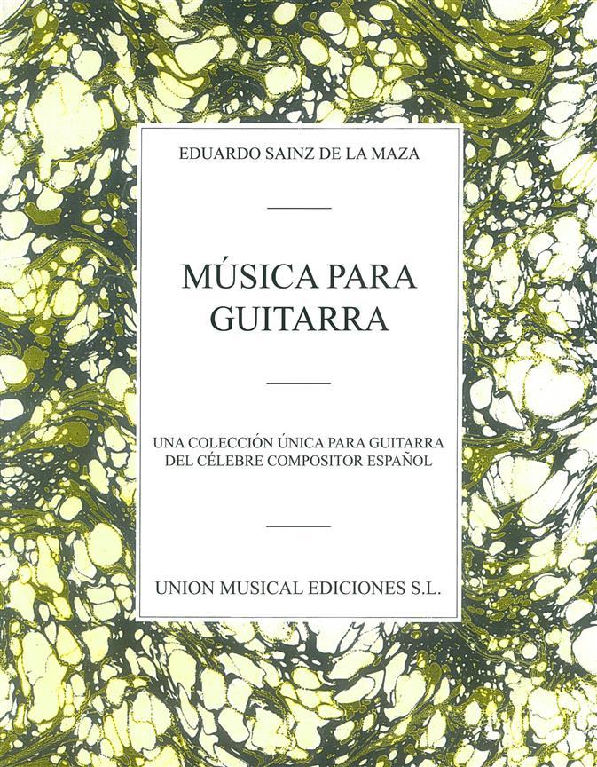 Sainz De La Maza Eduardo Musica Para Guitarra