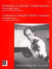 Cadenzas To Mozart's Violin Concertos Zu Kv 207 - 211 - 216 - 218 - 219