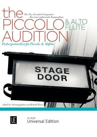 The Piccolo & Alto Flute Audition