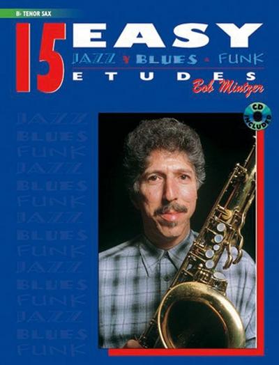 15 Easy Jazz B. Funk Bb Tenor Sax