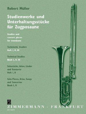 Etudes Techniques Pour Trombone, Cahier #1