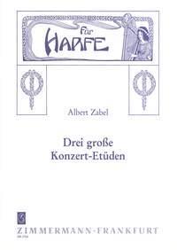 3 Grandes Etudes De Concert Pour Harpe