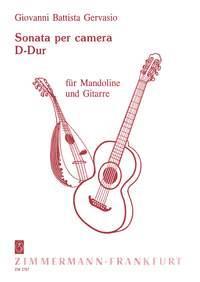 Sonata Per Camera En Ré Majeur Pour Mandoline Et Guitare