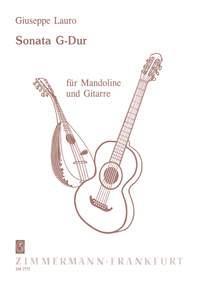 Sonata En Sol Majeur Pour Mandoline Et Guitare